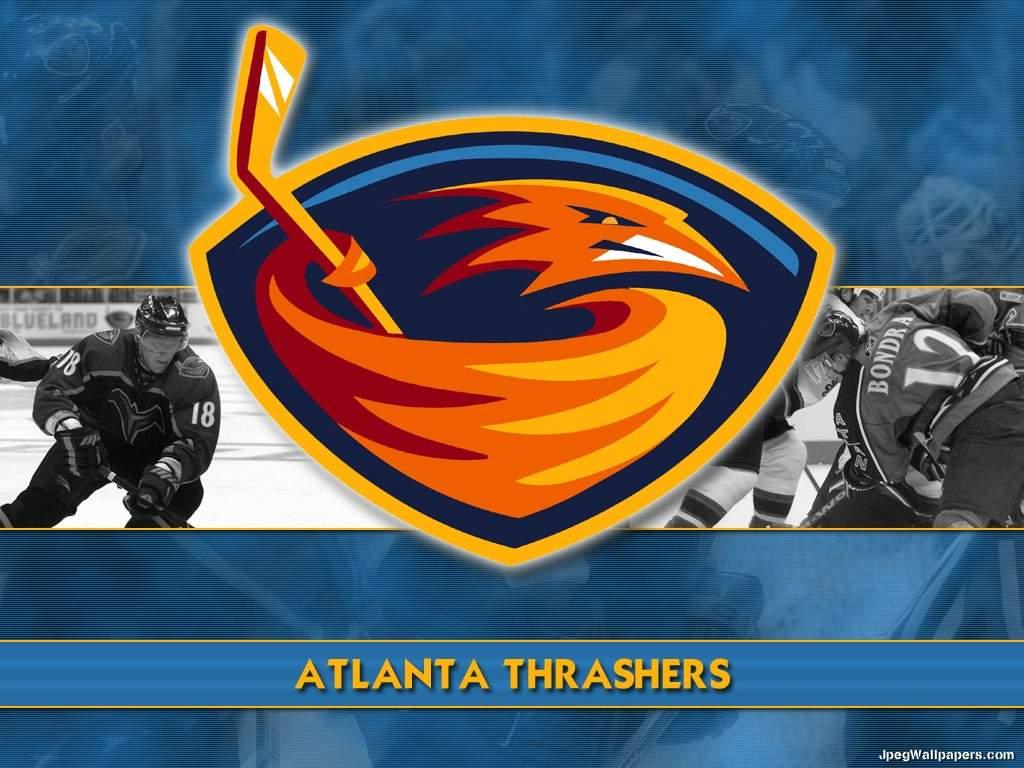 Download wallpaper Atlanta Thrashers   Sports 1024x768