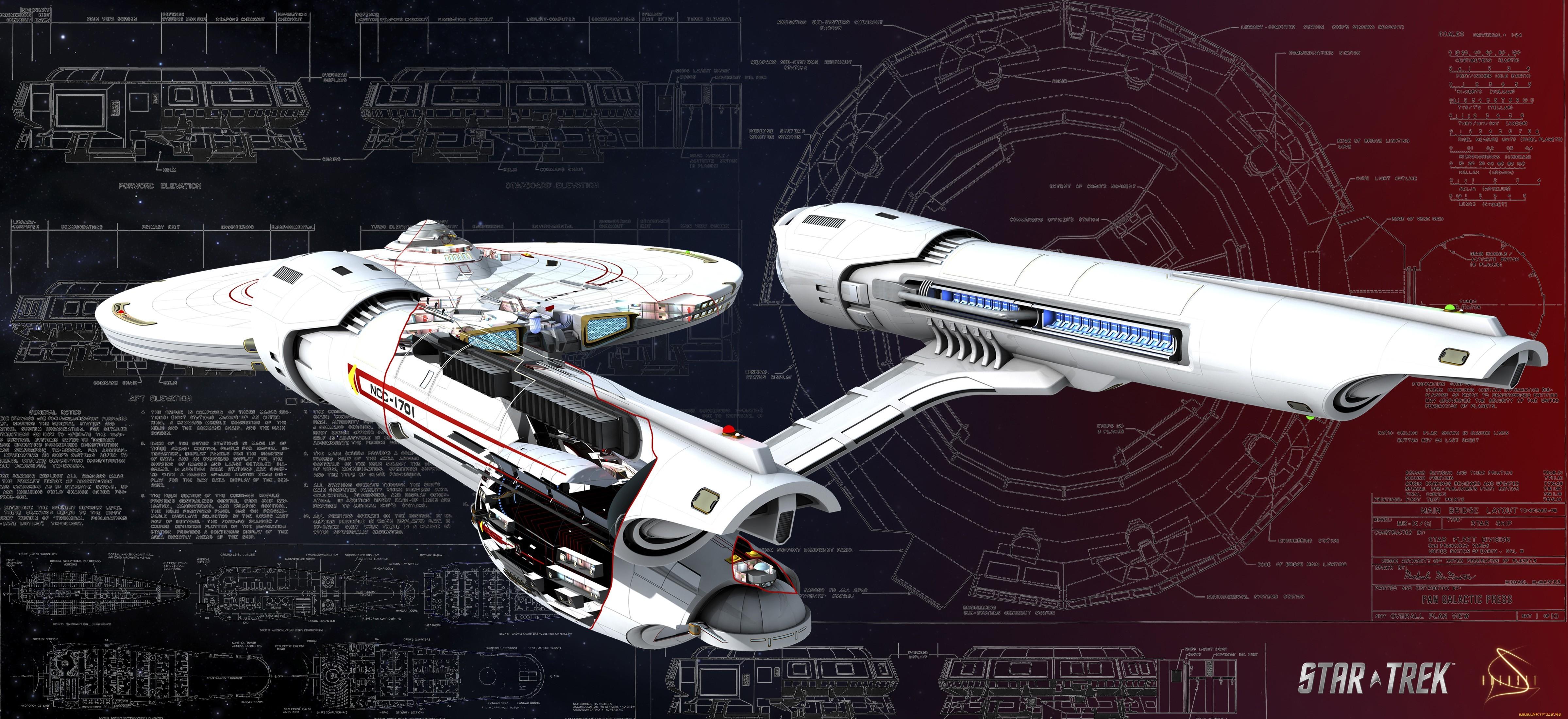 Star Trek 4797x2200