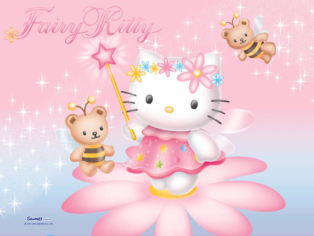 Hello Kitty Screensavers And Wallpapers   Picseriocom 1024x768