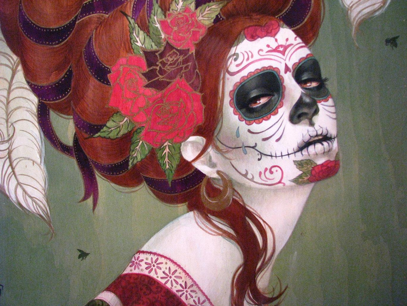 sugar skull wallpaper  HD Photo Wallpaper Collection HD WALLPAPERS 1366x1025