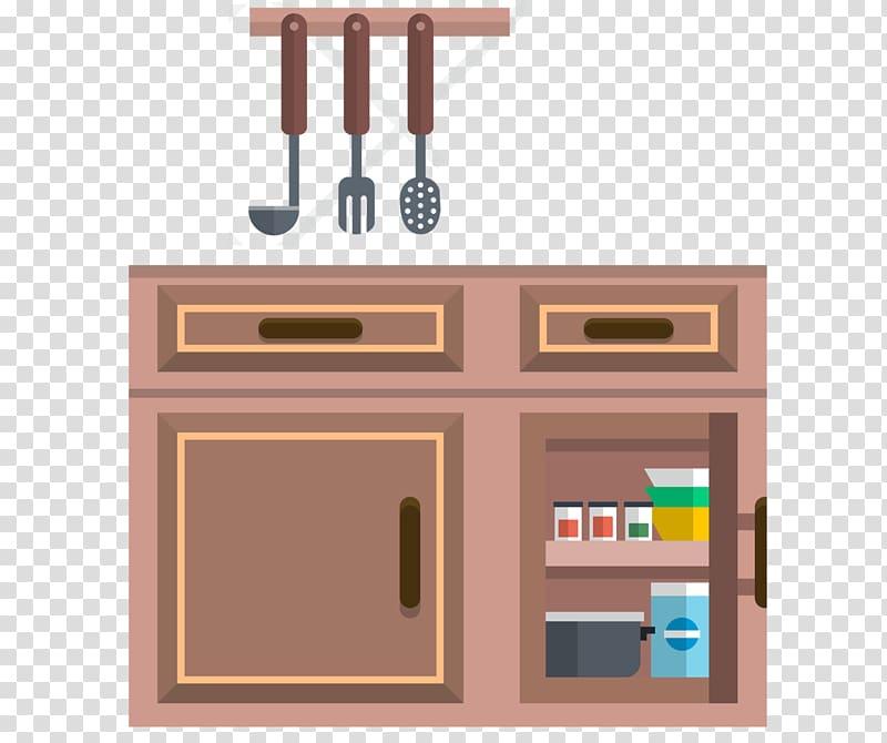 Furniture Kitchen cabinet Cupboard Kitchen cabinets transparent 800x670