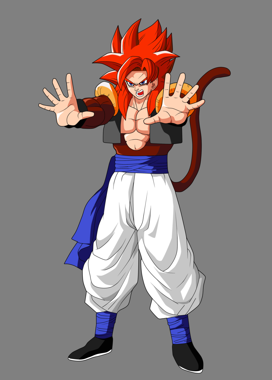 Free Download Gogeta Super Saiyan 4 Coloriage 900x1255 For Your