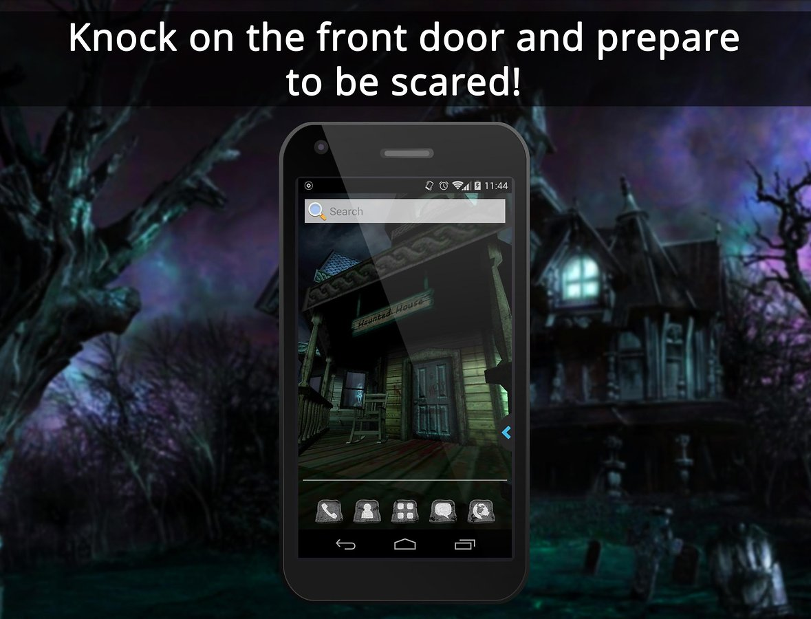UR 3D Haunted House Live Theme   Android Apps and Tests   AndroidPIT 1179x900