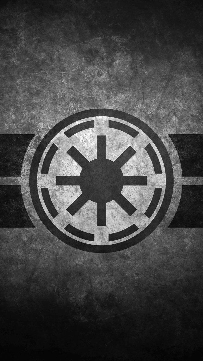 Galactic Republic Symbol Cellular Wallpaper by swmand4 on 670x1191