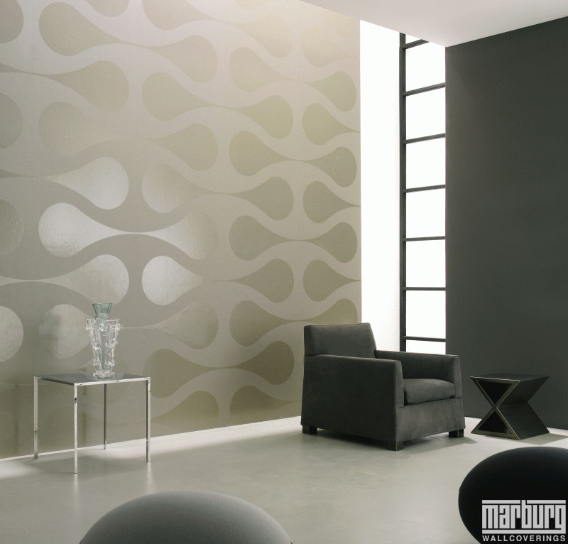 Large scale wallpaper wallpapersafari for Behangpapier living landelijk