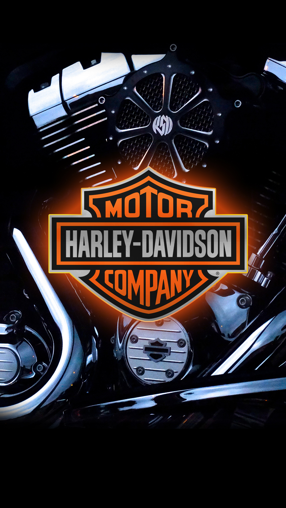 Harley Davidson 1080 x 1920 HD Wallpaper 1080x1920
