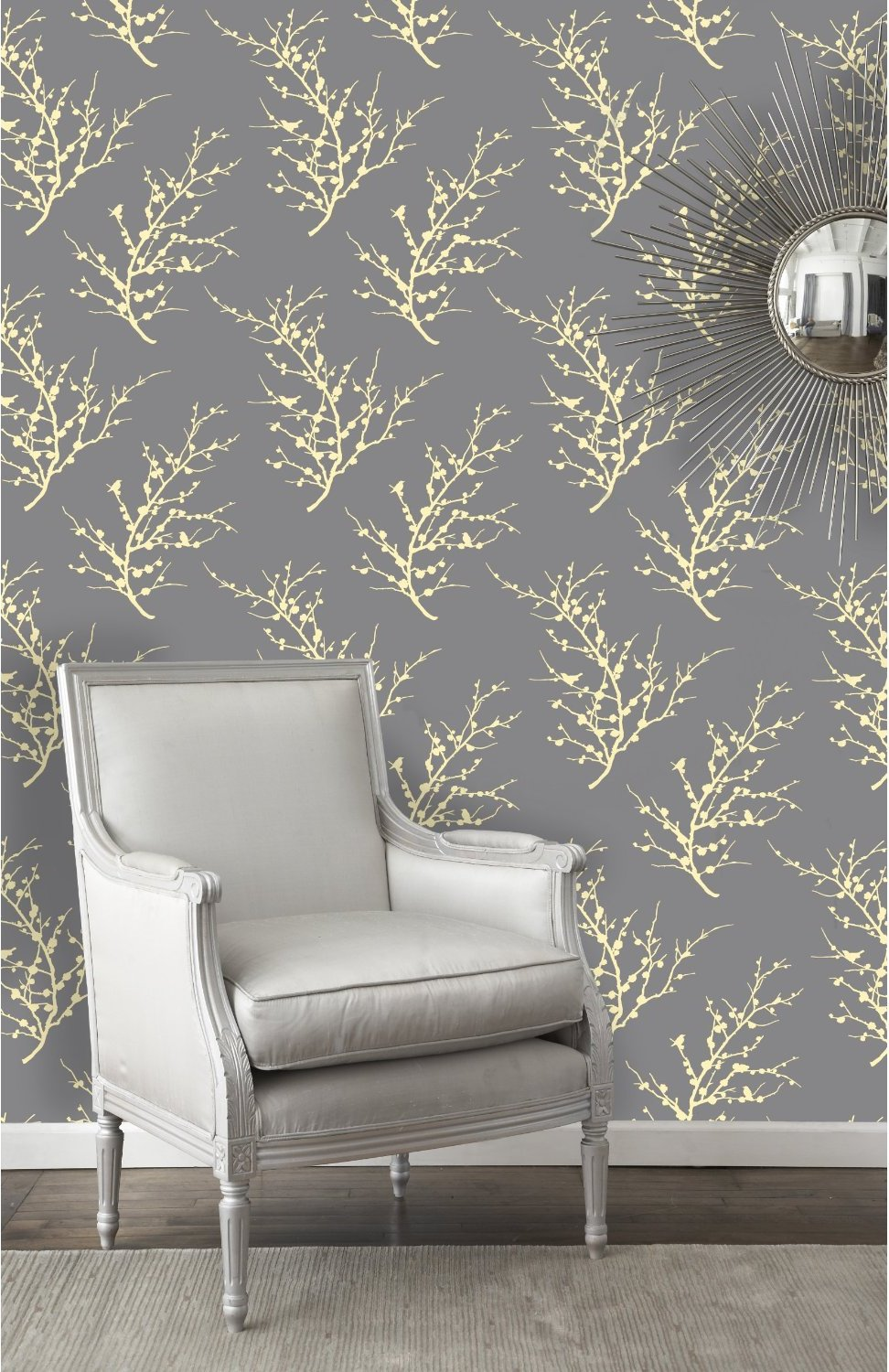 Make Your Own Wallpaper with Fancy Masking Tape 972x1500