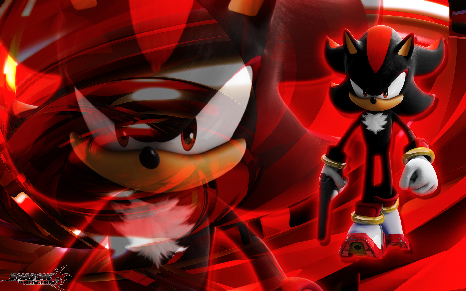 Shadow the hedgehog wallpaper wallpapersafari for Deviantart wallpaper
