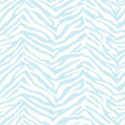 Blue Zebra print wallpaper All About Zebra Pinterest 500x500