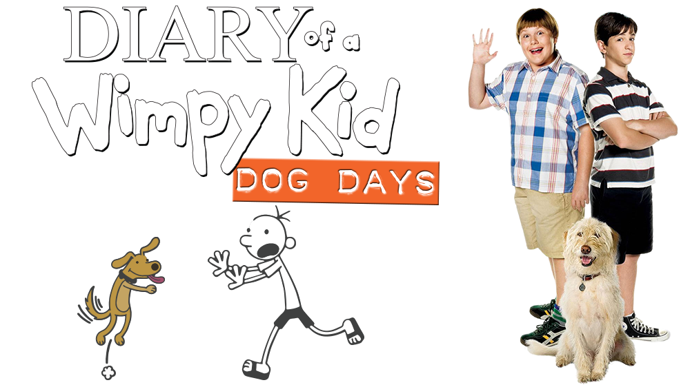 Diary of a Wimpy Kid Dog Days Movie fanart fanarttv 1000x562