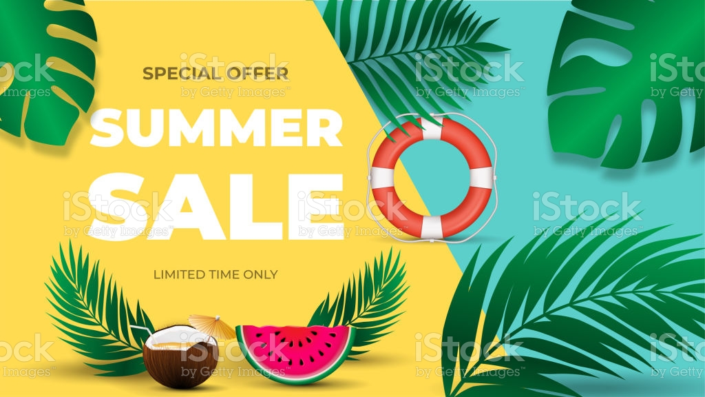 Final Summer Sale Banner Template For Banners Wallpaper Flyers 1024x576