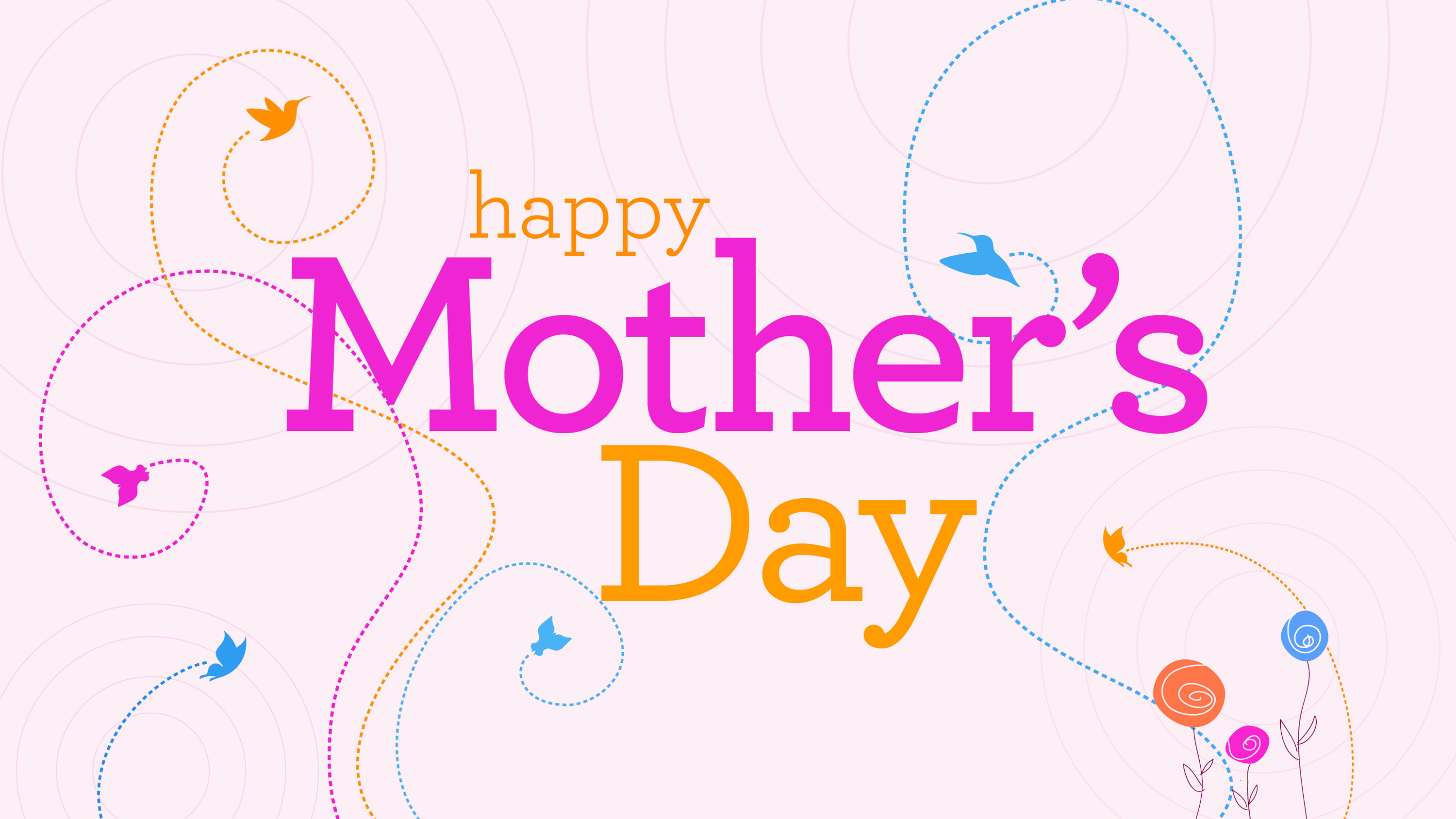 Happy Mothers Day Wallpaper HD 2 3000x1688