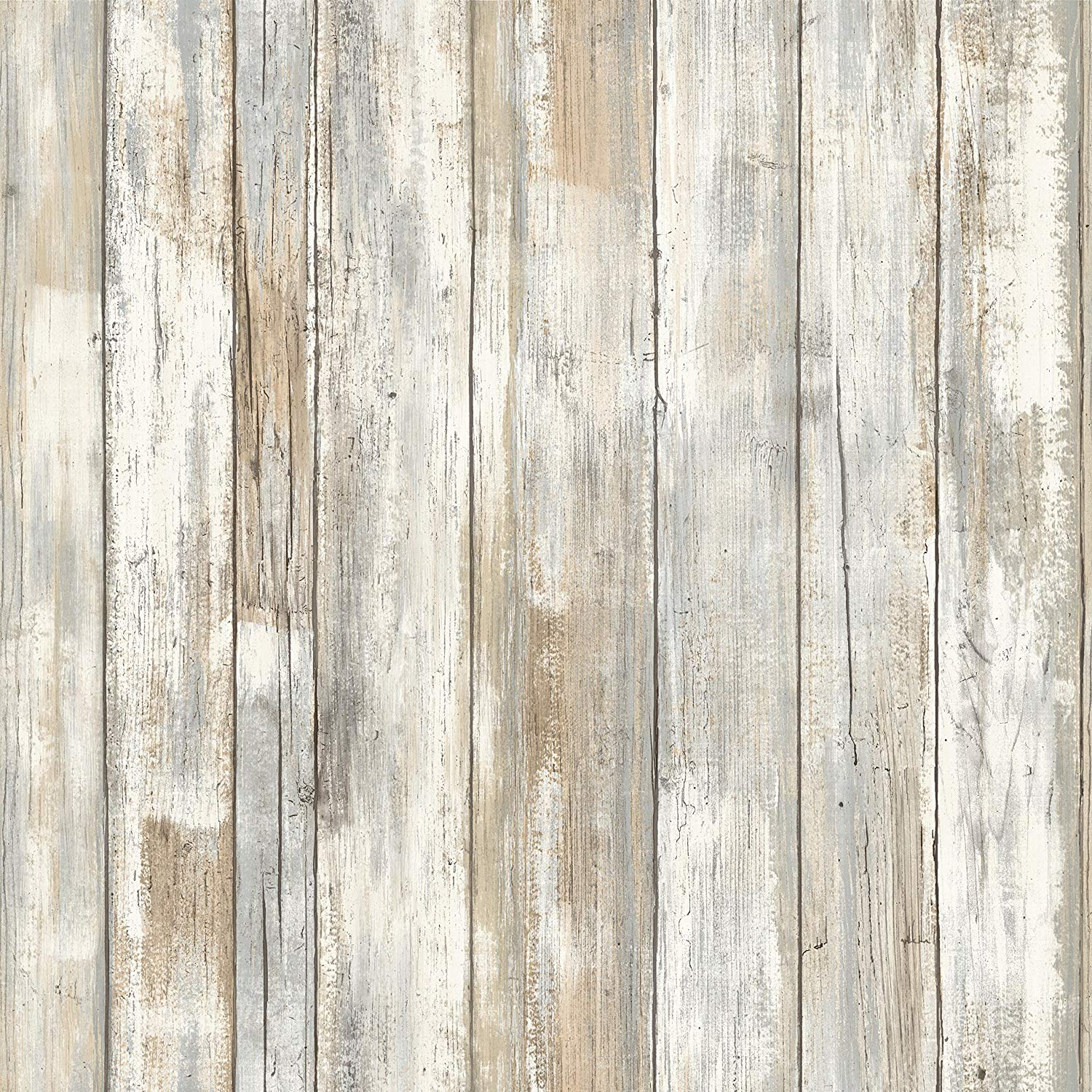 RoomMates Distressed Wood Peel and Stick Wallpaper     Amazoncom 1500x1500