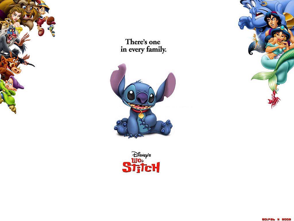 Disney Lilo Stitch 1024x768