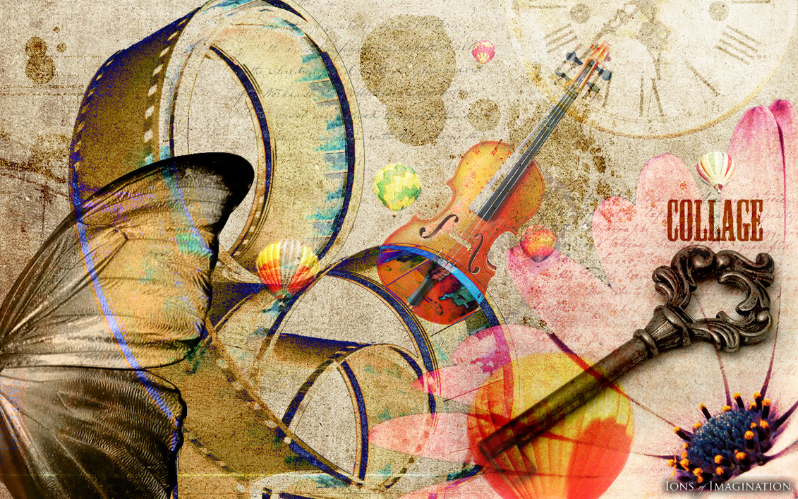 77 Collage Backgrounds On Wallpapersafari