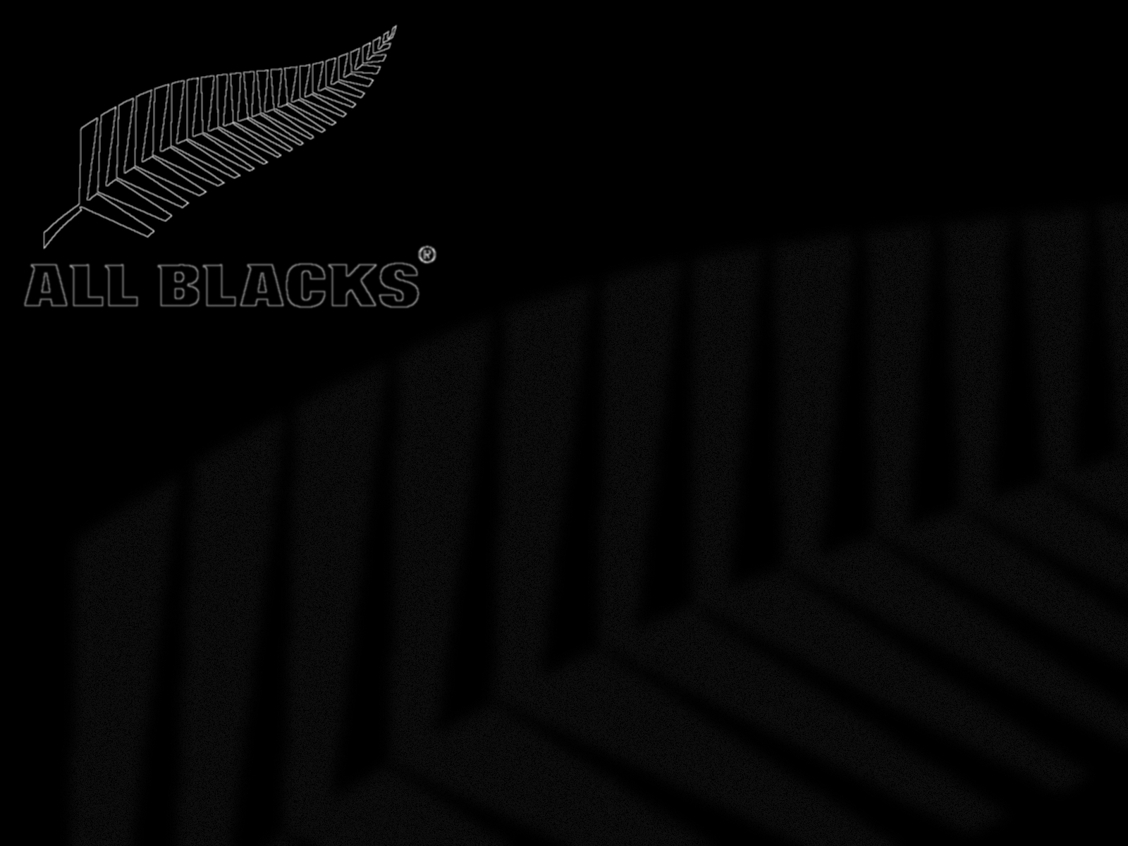 black wallpaper hd All Blacks Wallpaper 1600x1200