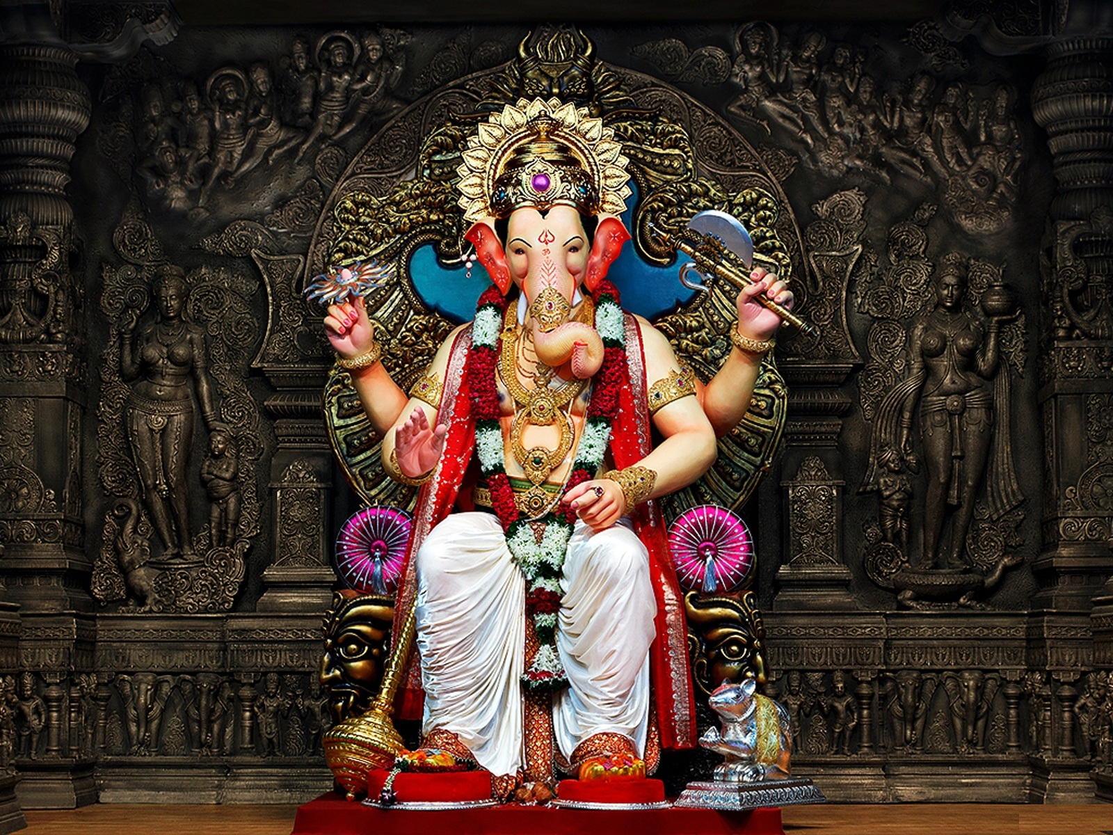 Kali Wallpaper Ganesh Chaturthi 2012 New Wallpapers 1600x1200