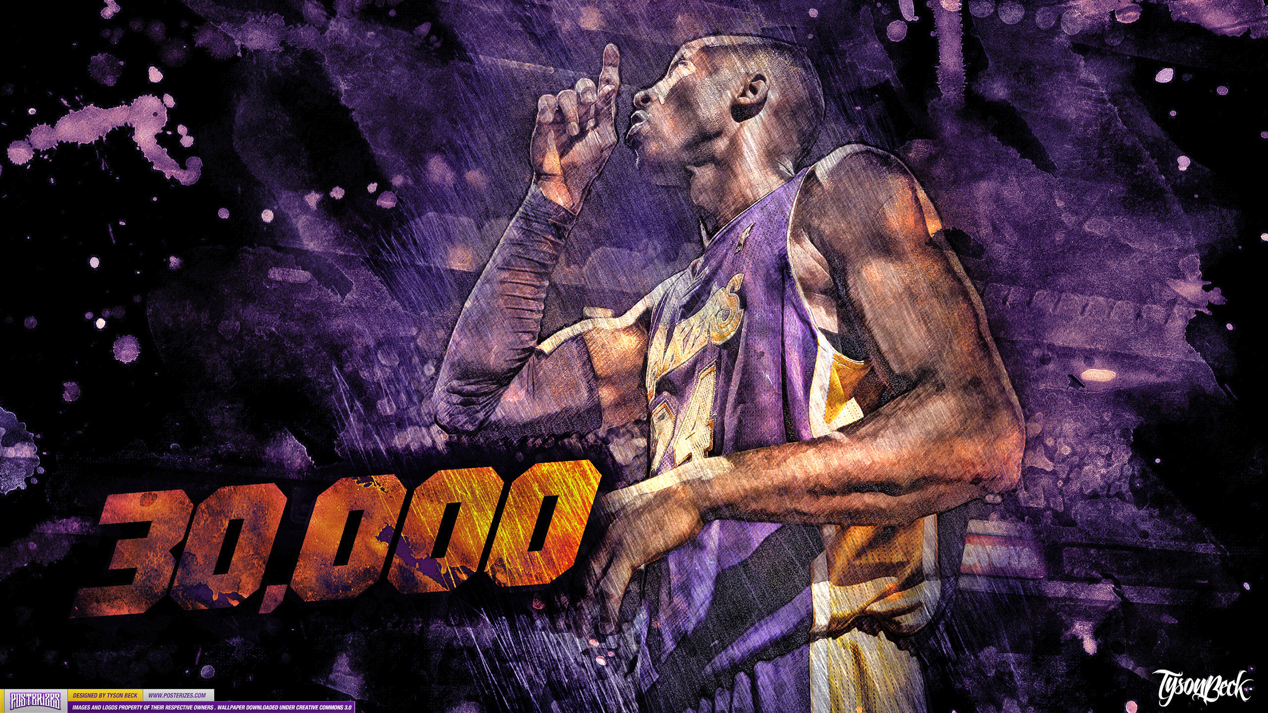 Kobe Bryant   30000 WALLPAPER SLAMonline 2560x1440