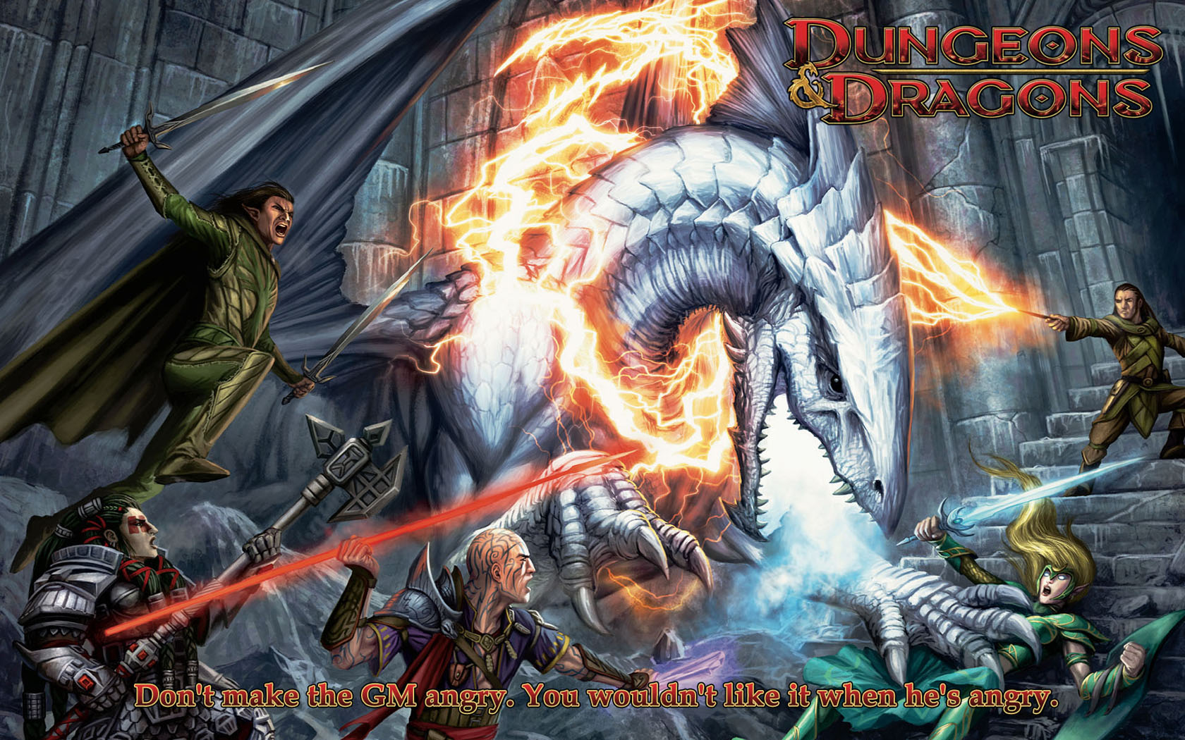 HD Dungeons And Dragons Games Wallpapers 1680x1050