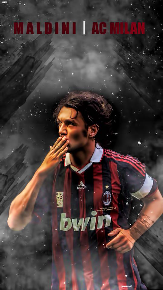 Paulo Maldini AC Milan Lockscreen   Album on Imgur 539x960