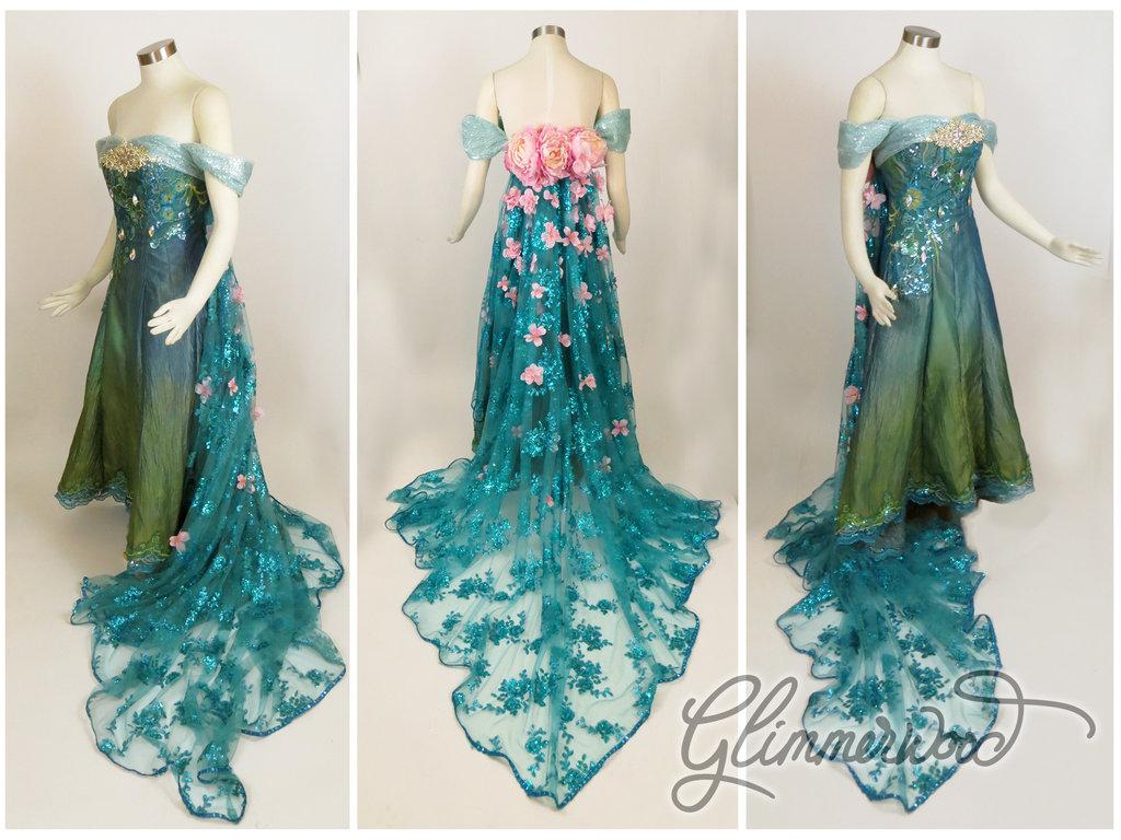 Elsa s Spring Dress Cosplay from Frozen Fever frozen fever 38120234 1024x768