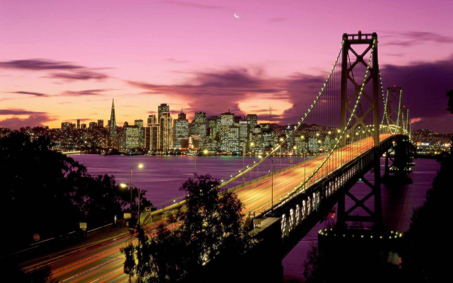 San Francisco   Oakland Bay Bridge wallpaper   79482 1920x1200