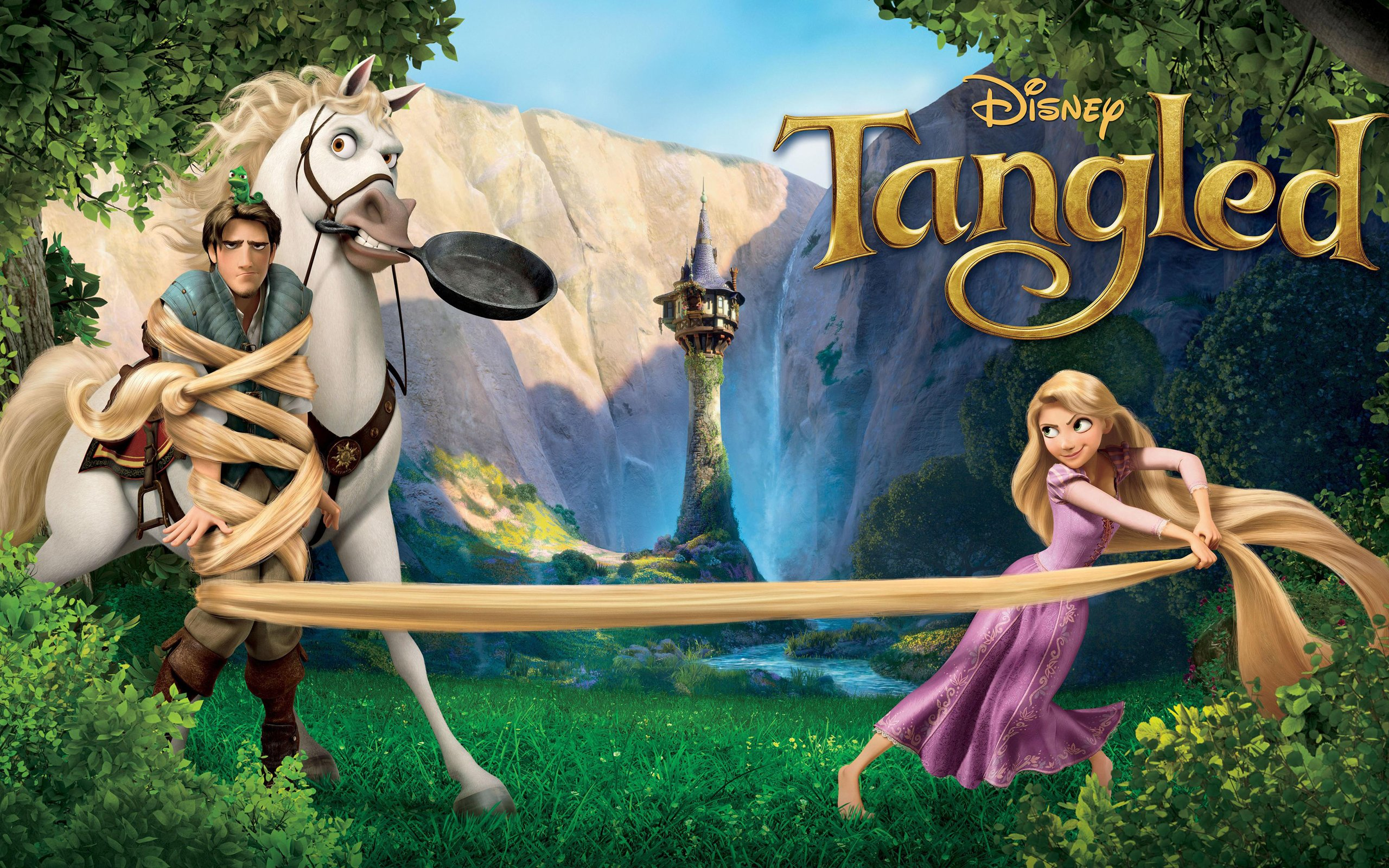 Tangled 4K wallpapers for your desktop or mobile screen and 2560x1600