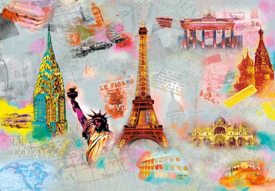 wall mural photo wallpaper around the world 648 p 544x378