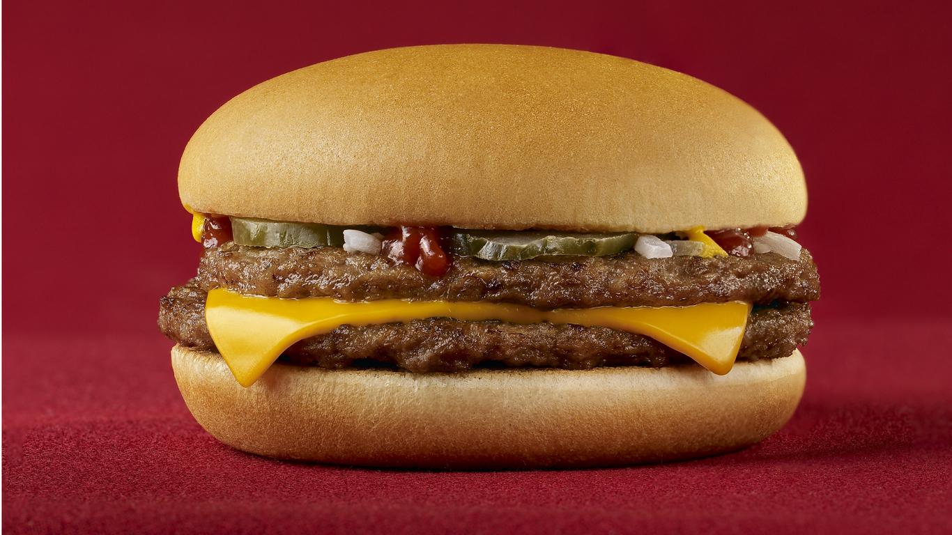 Fast Food Burger Wallpaper 1366x768