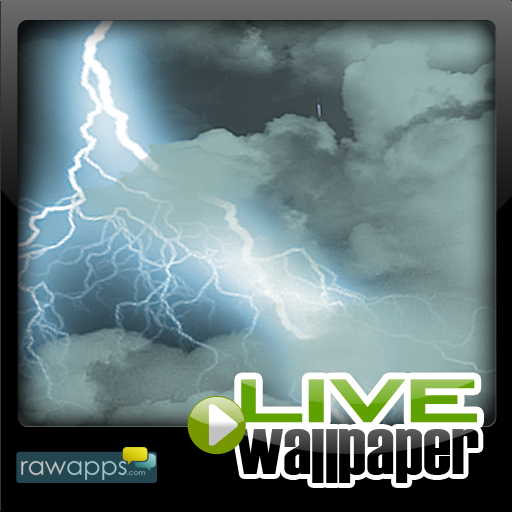 photographers desktop wallpaper Thunderstorm Live Wallpaper 512x512