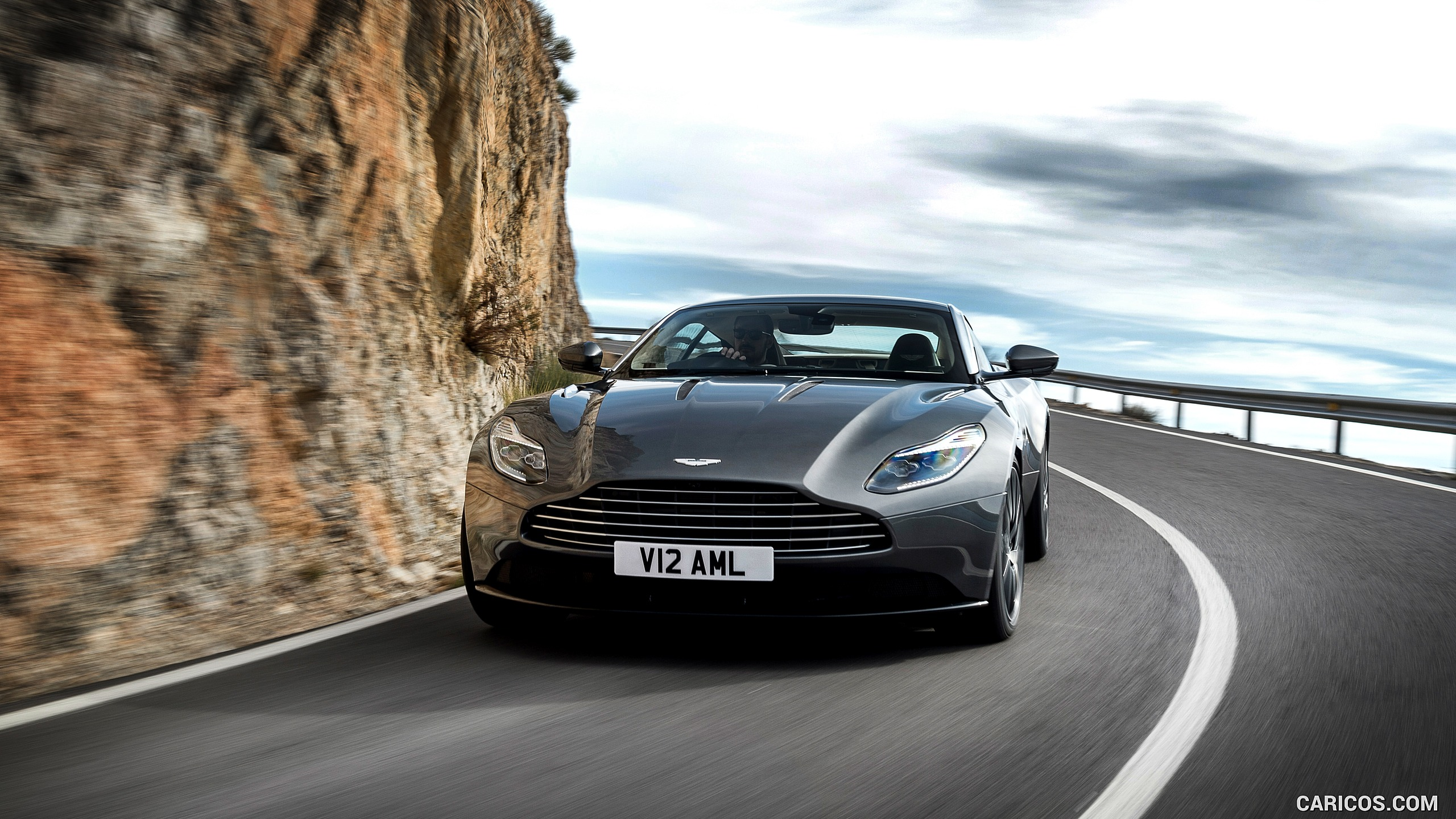 2017 Aston Martin DB11   Front HD Wallpaper 3 2560x1440
