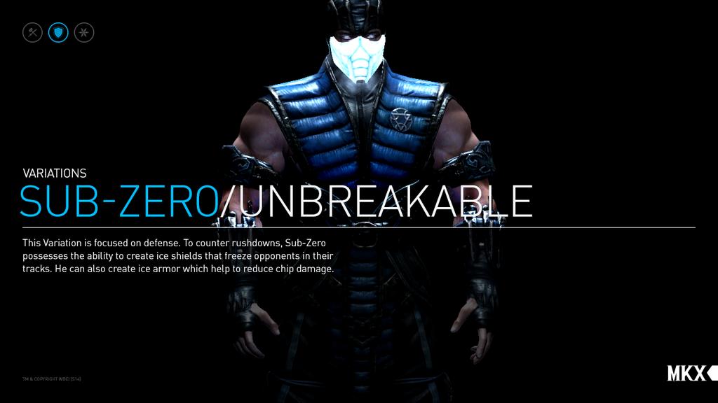 Unbreakable Sub zero MKX by Sublzerolfan 1024x576