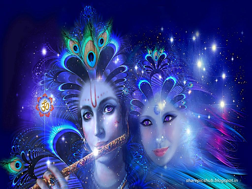 Krishna Wallpaper for Desktop - WallpaperSafari  Krishna Wallpap...