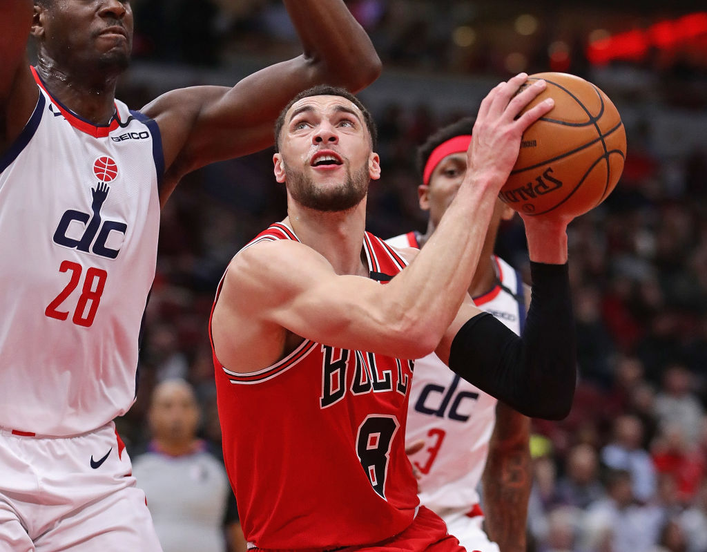 Bulls LaVine to compete in NBAs 3 point contest 1024x799