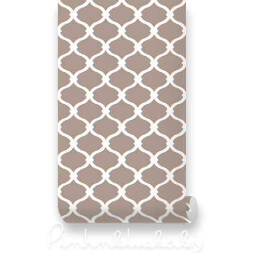 String Net White   Cafe Removable WallPaper   Pinknbluebabycom 500x500