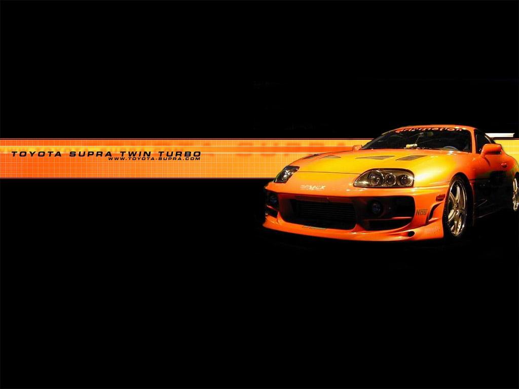 TOYOTA Animated Toyota Supra Wallpaper Image Photo Red Blue 1024x768
