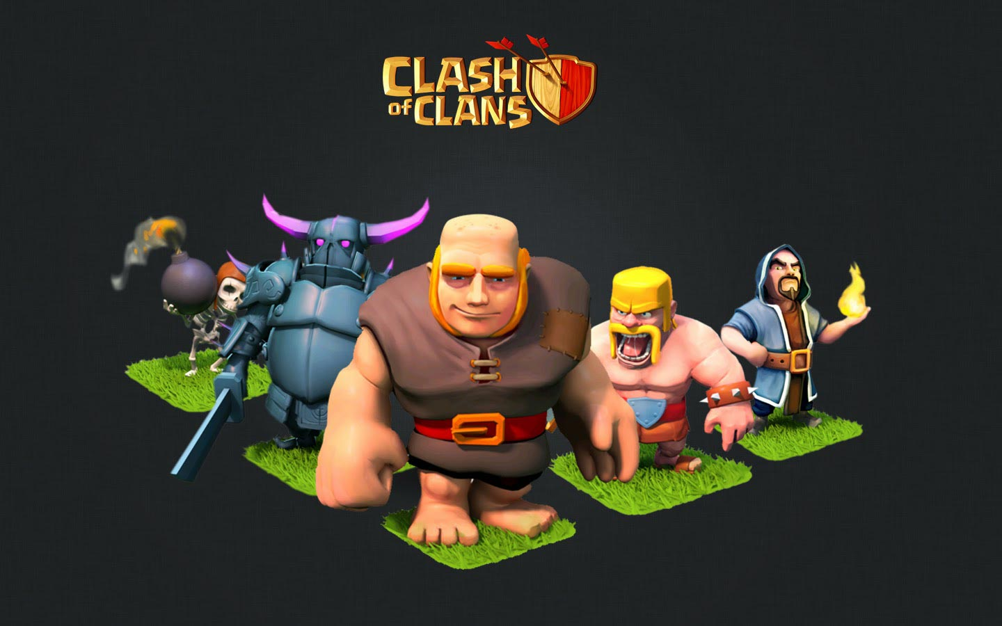 15 Best Clash of Clans HD Wallpapers 1440x900