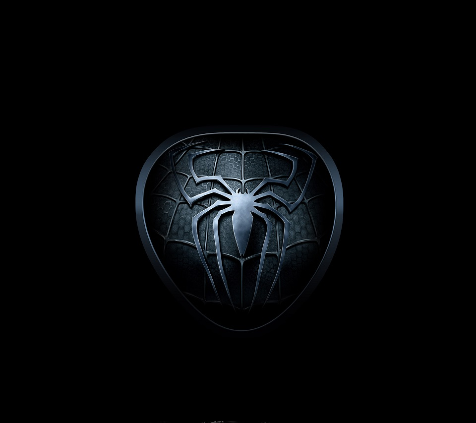 Spider Badge Android wallpaper HD 960x853