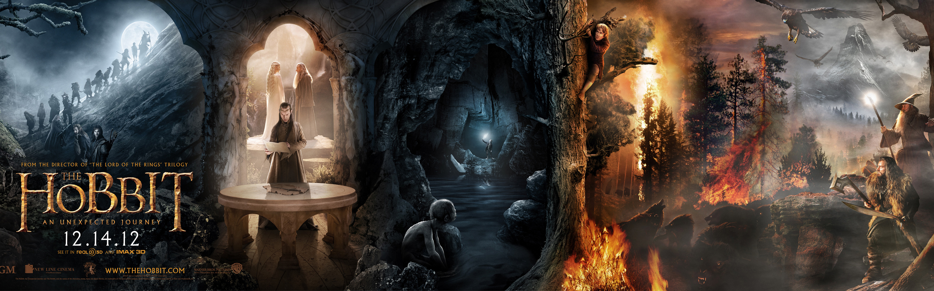 The Hobbit themes for Windows 8 HD Wallpapers 3200x1000