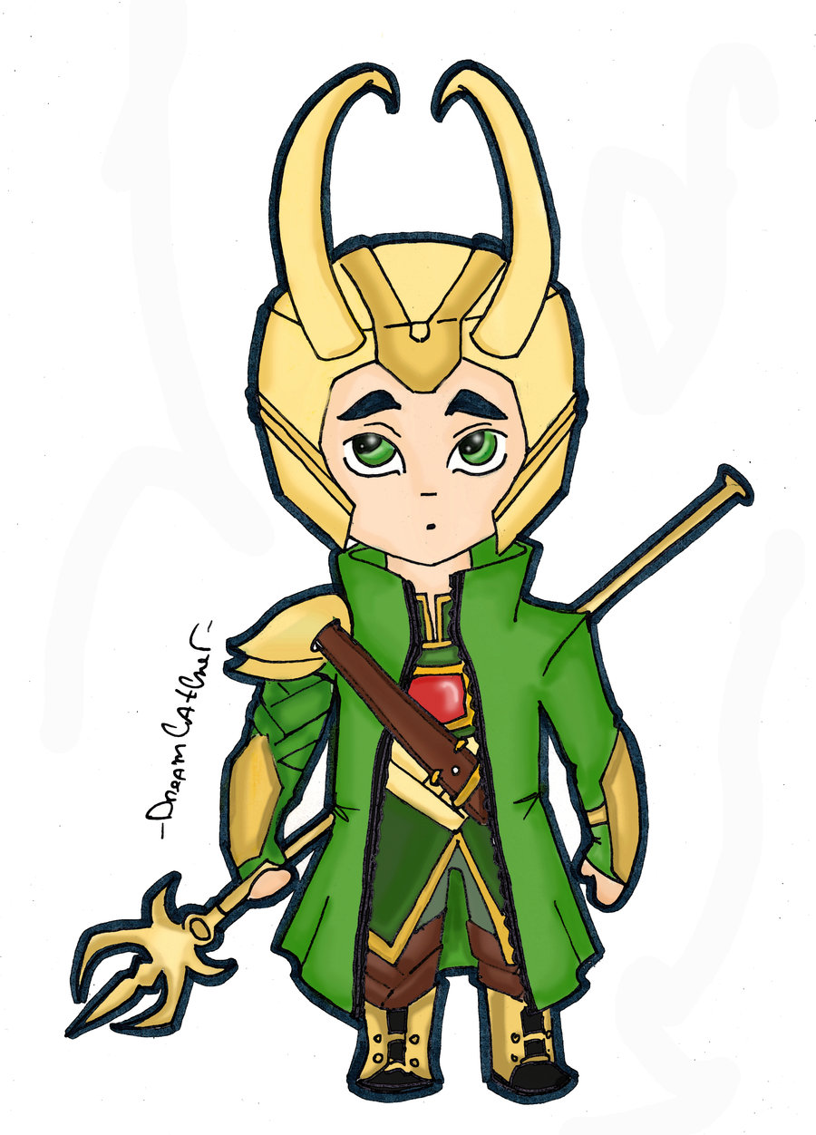 Loki chibi by DreamUru on deviantART 900x1252