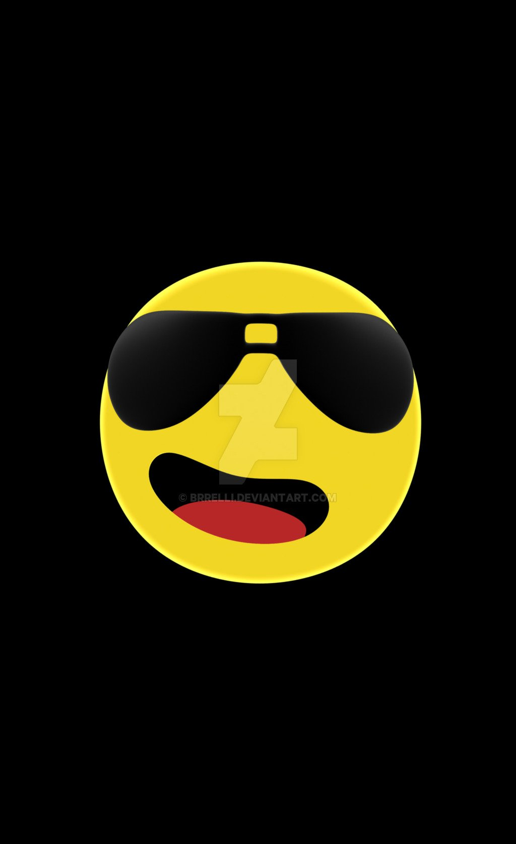 Free Cool Emoji Windows Phone 3D Model Wallpaper By