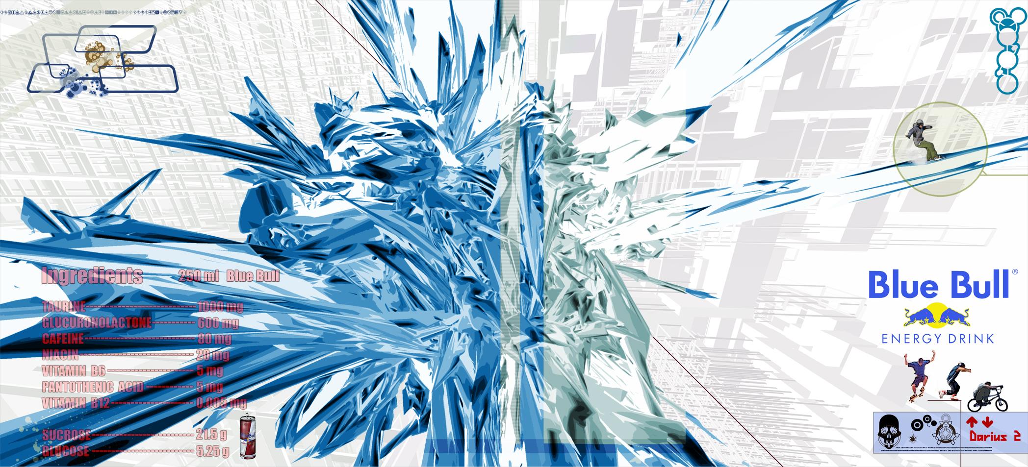 Blue Bull by Darius II 2096x953
