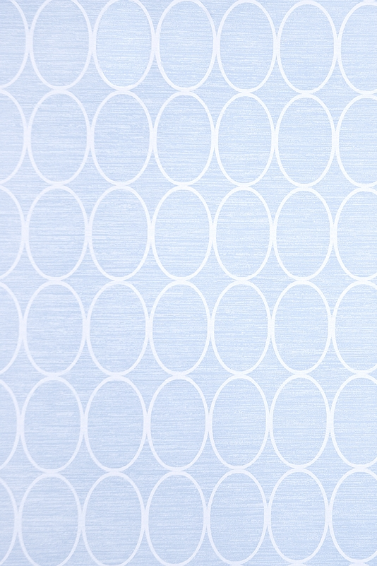 Wallpaper Pale blue wallpaper with geometric oval design in White 534x801