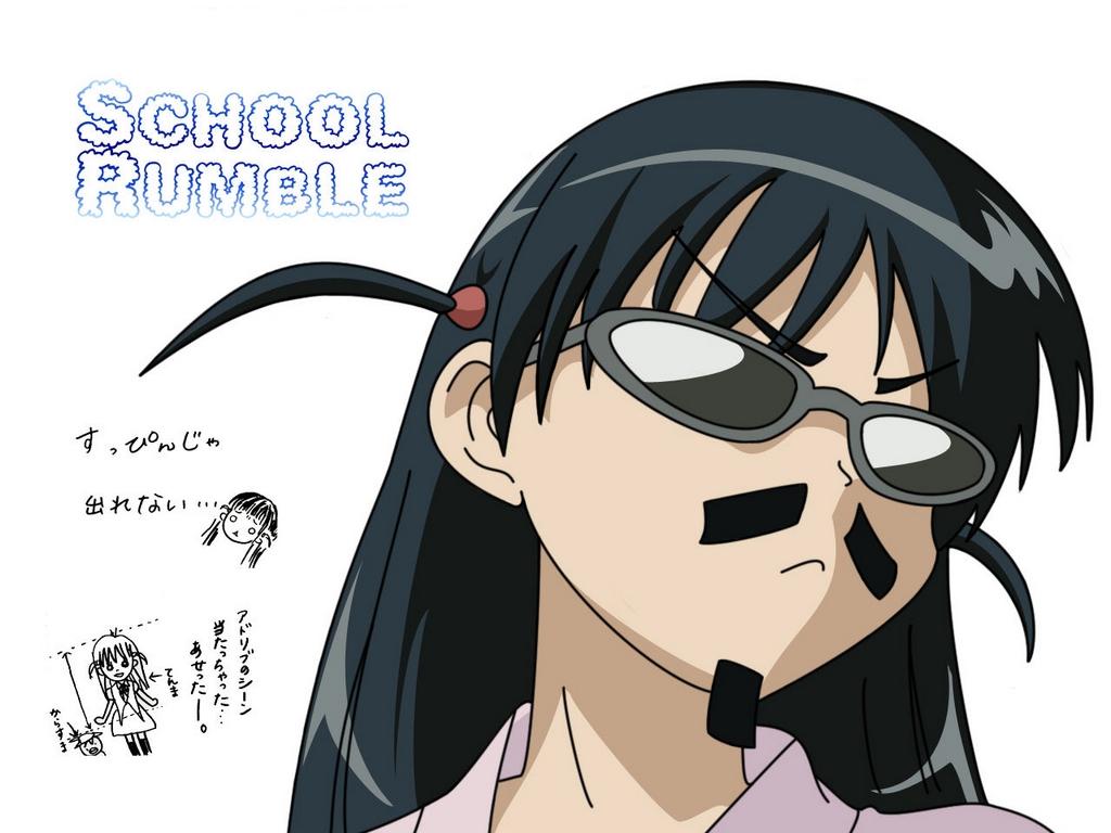 Images School Rumble   Wallpaper   School Rumble 1024x768