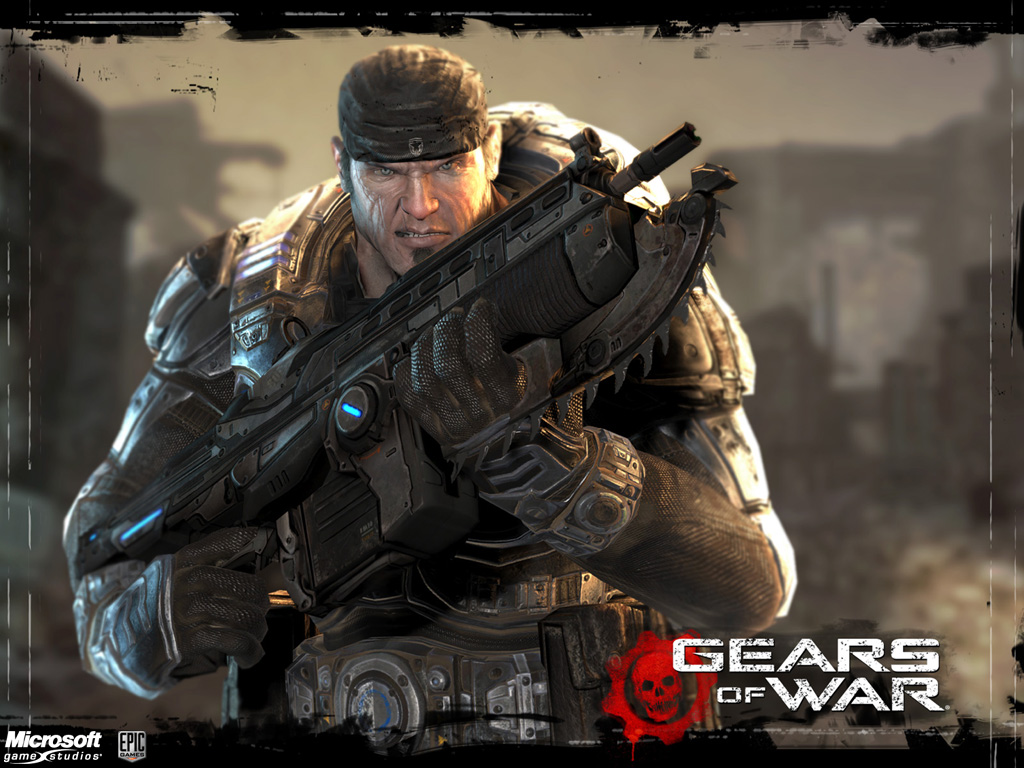 Wallpaper de Gears of War 1024x768