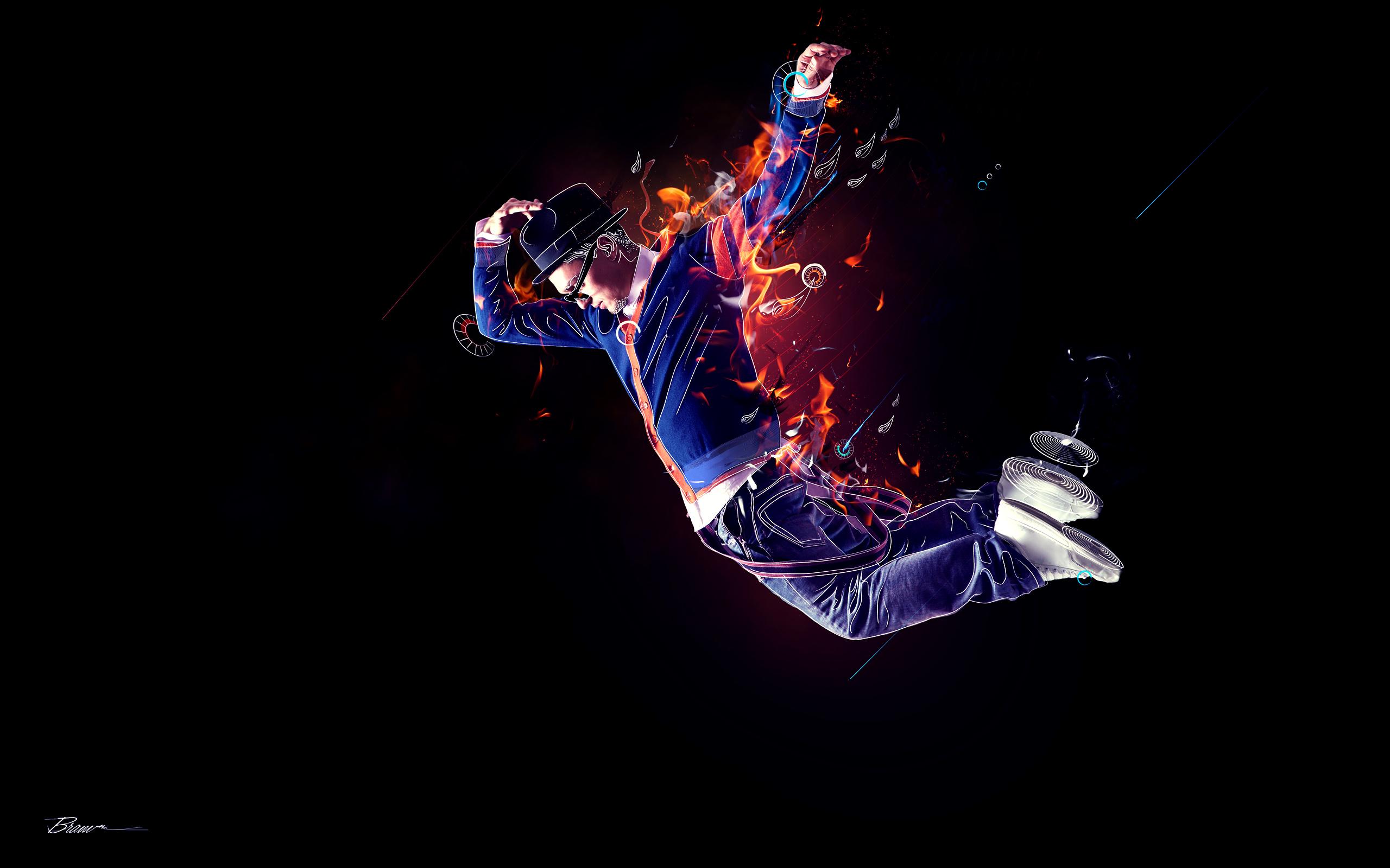 FireDancer wallpaper2560x1600 2560x1600