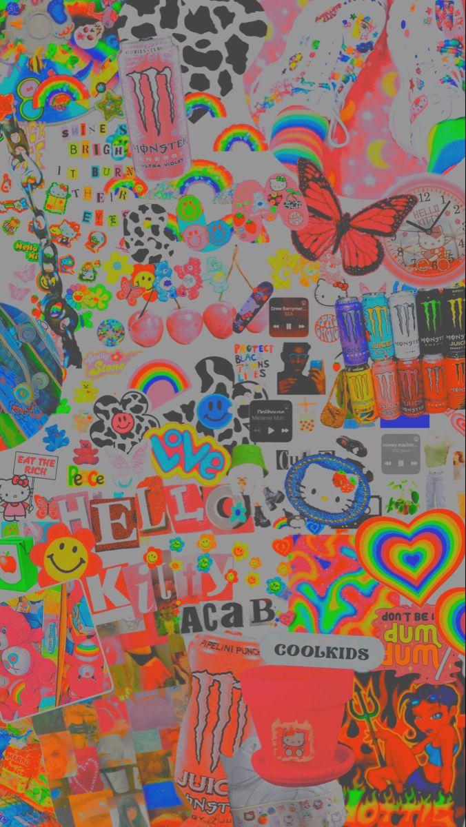 InDiE KiD WaLlPaPeR Hippie wallpaper Edgy wallpaper Retro 676x1200