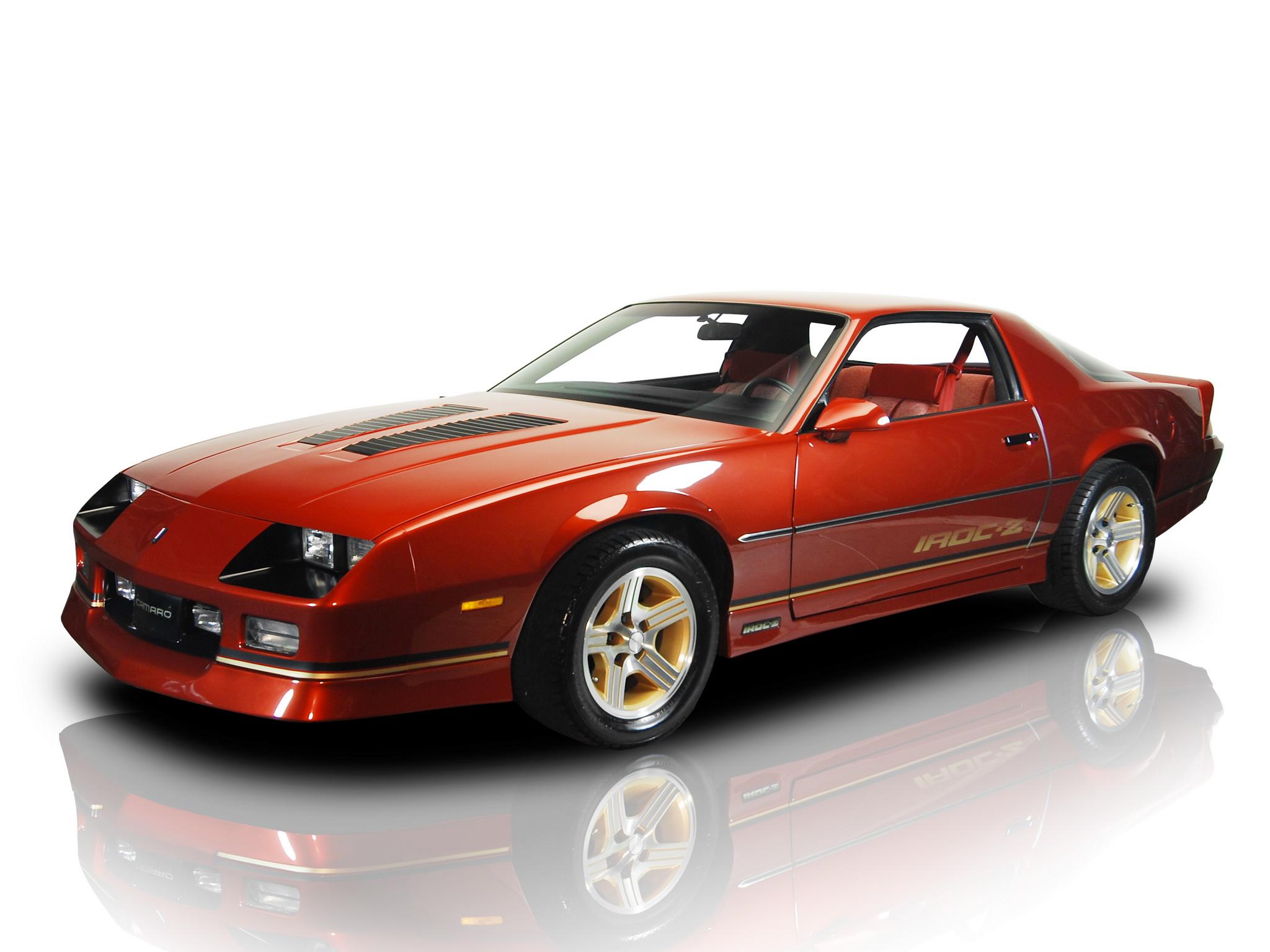 198890 Chevrolet Camaro IROC Z FP 87 2048x1536