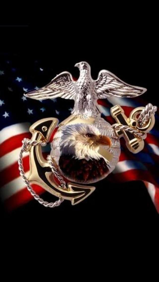[48+] Marine Corps iPhone Wallpaper on WallpaperSafari