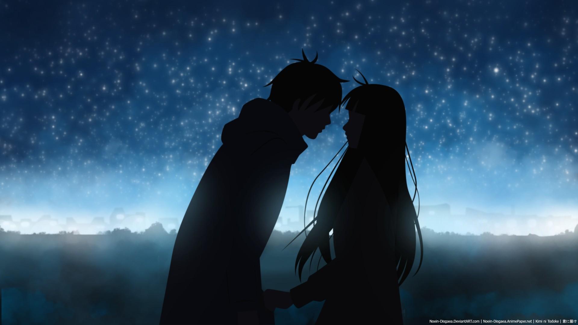 romantic anime wallpaper - photo #7